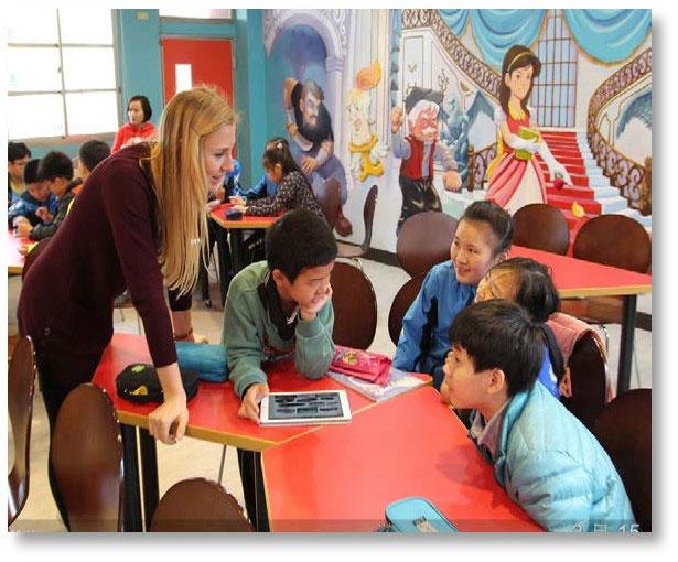 Teach Taiwan teacher