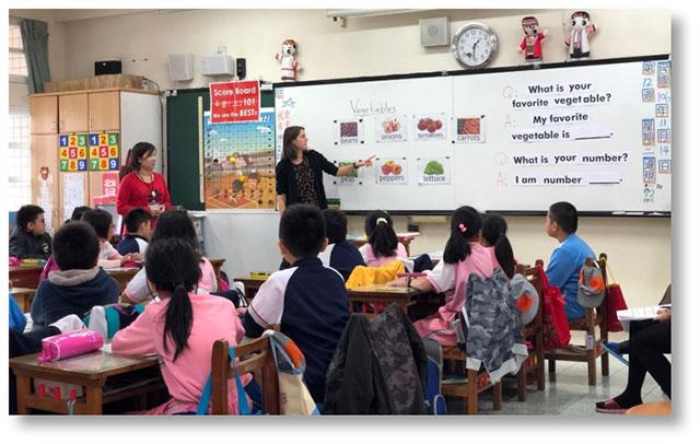 Teach Taiwan class