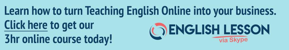 English Lesson via Skype