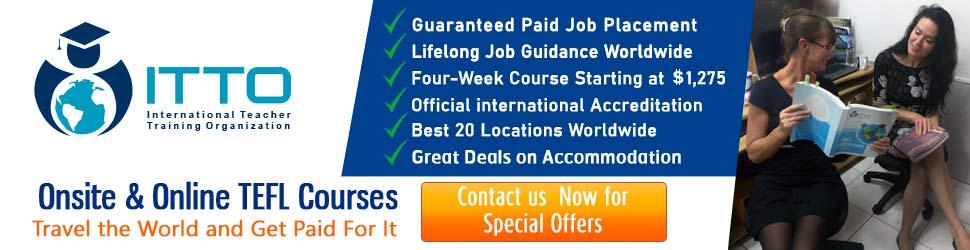 TEFL Certificate Courses