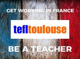TEFL Toulouse logo