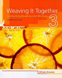 Weaving it Together ~ Connecting Reading and Writing
