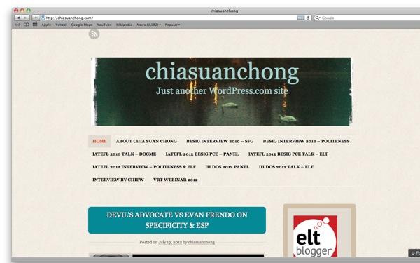 Chia Suan Chong's Blog