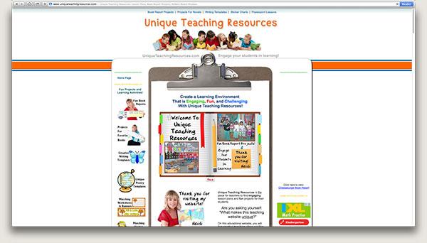 Unique Teaching Resources-Site