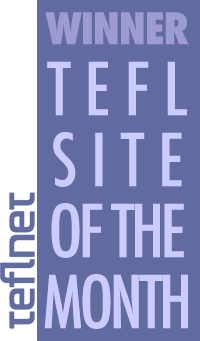 TEFL Site of the Month @ TEFL.net