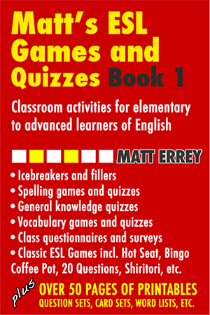 Matt's ESL Games and Quizzes