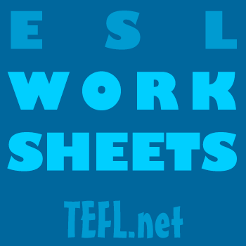 ESL Worksheets