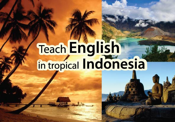 Teach English in Tropical Indonesia